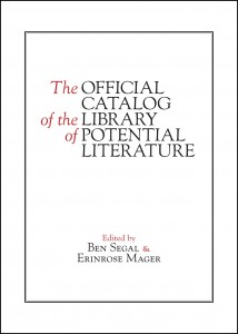 The Official Catalog of the Library of Potential Literature